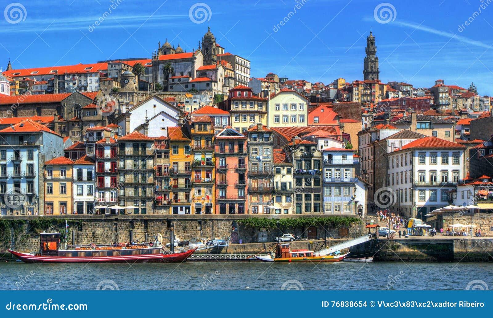 Ribeira view in Porto