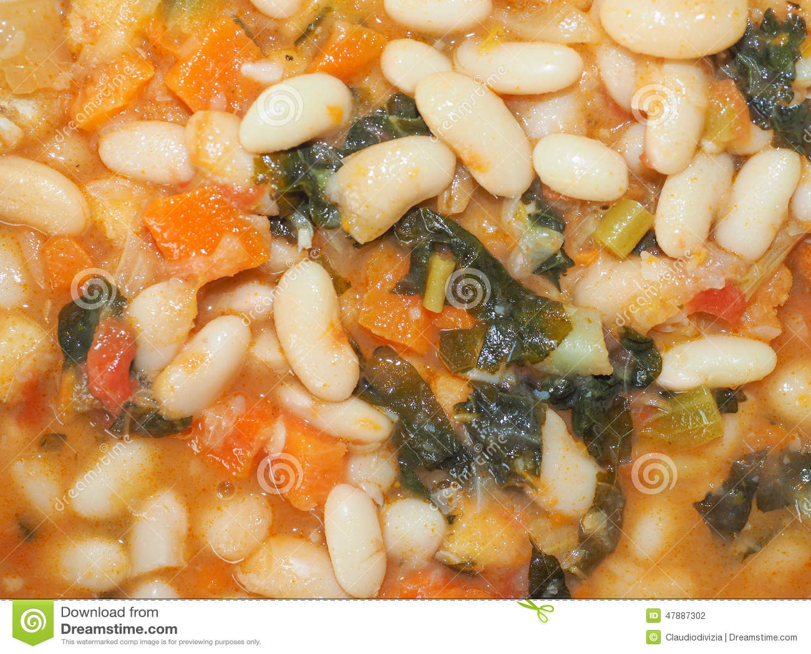 Ribollita Tuscan soup stock photo  Image of kale, beans