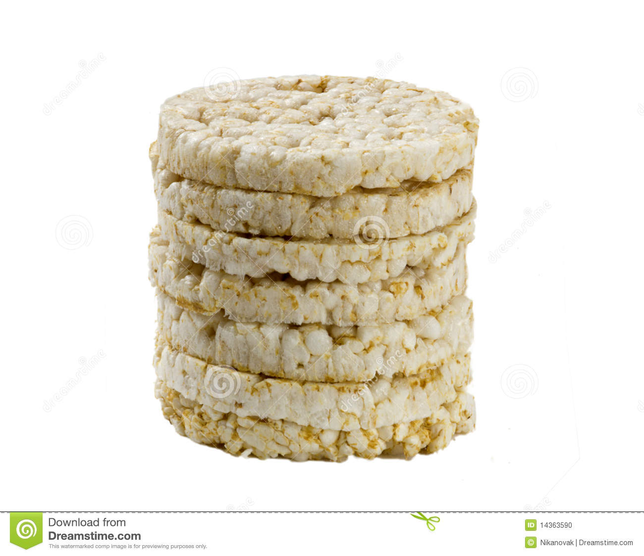 Rice biscuits