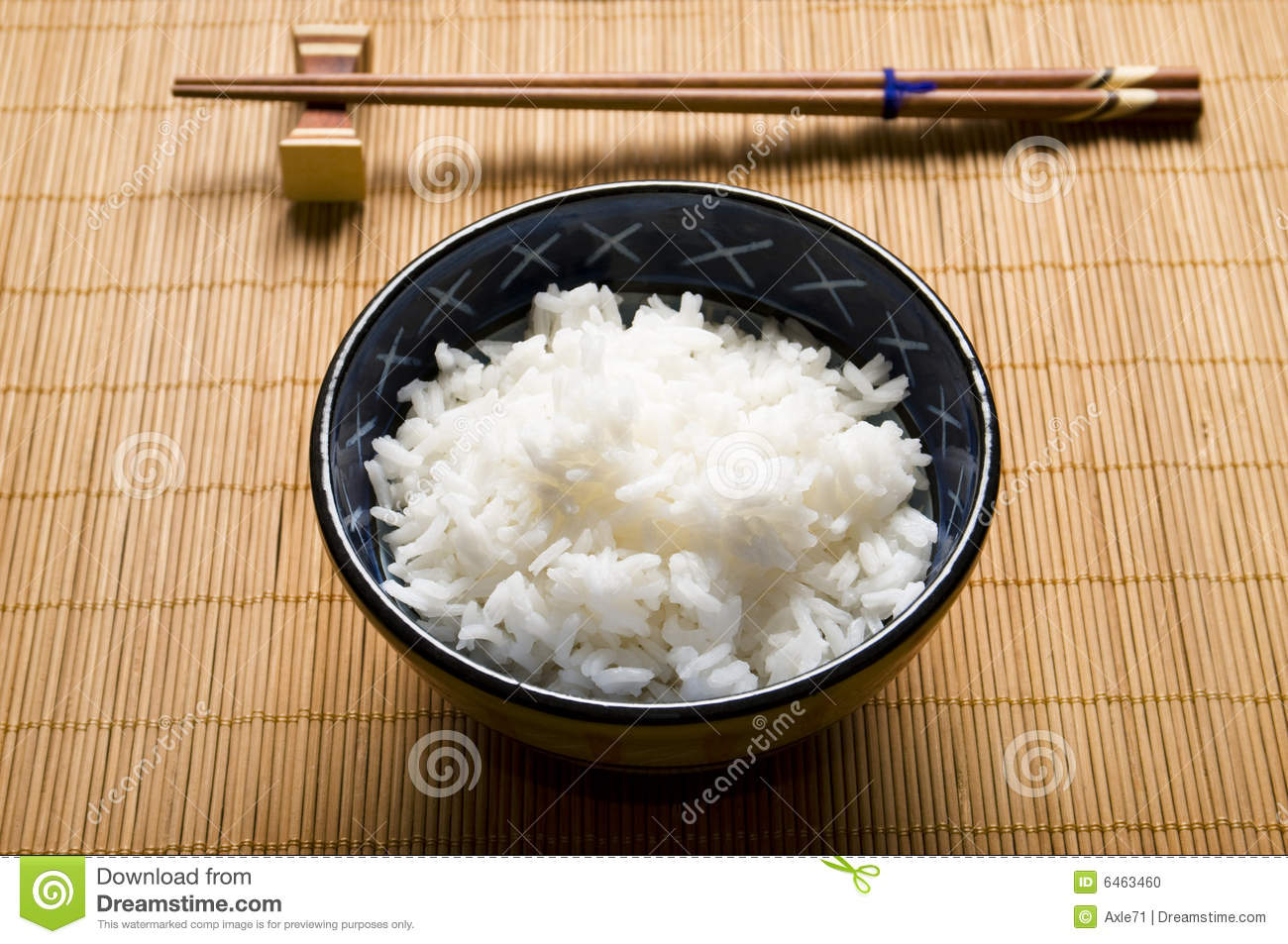 Rice and bowl