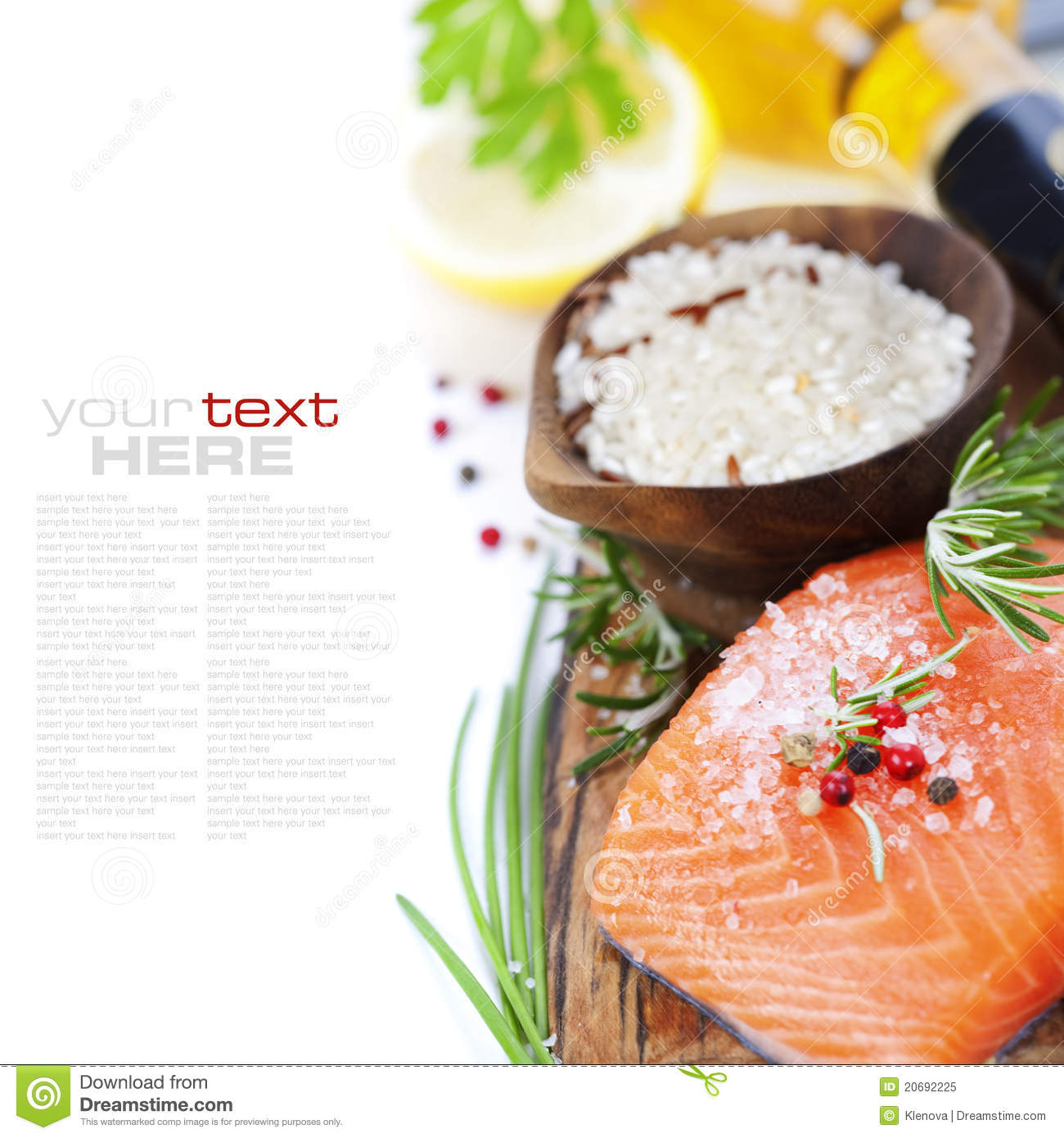 Rice fish and white wine royalty free stock photo image for White wine with fish
