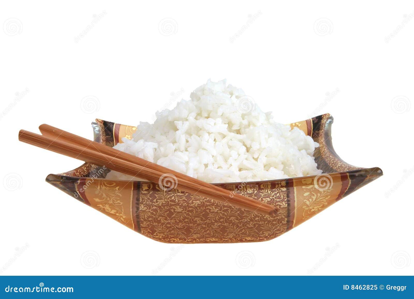 Rice klibbar white