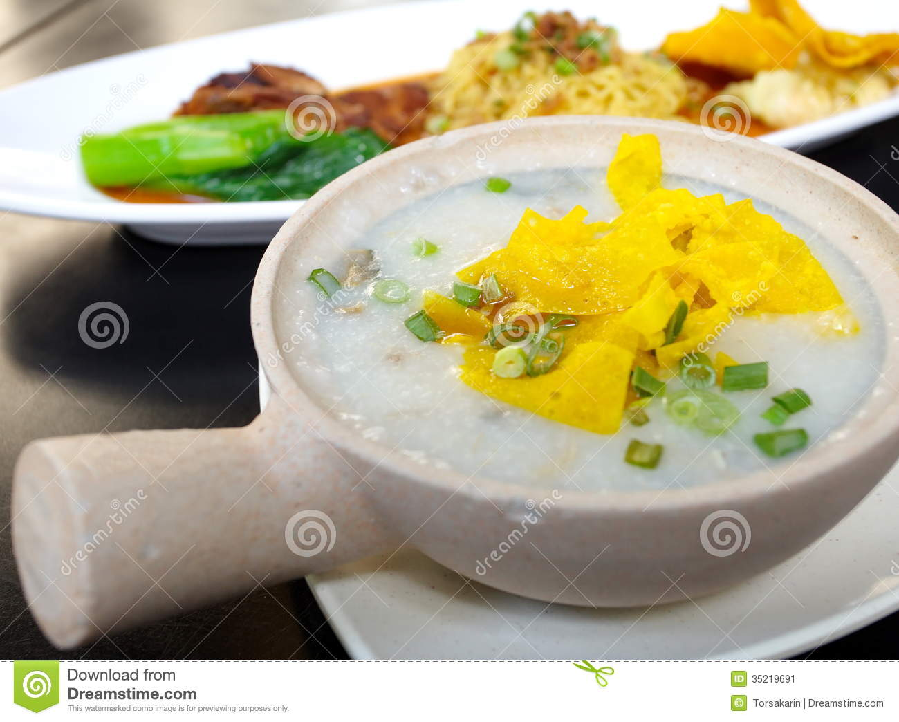 how to cook chinese rice porridge