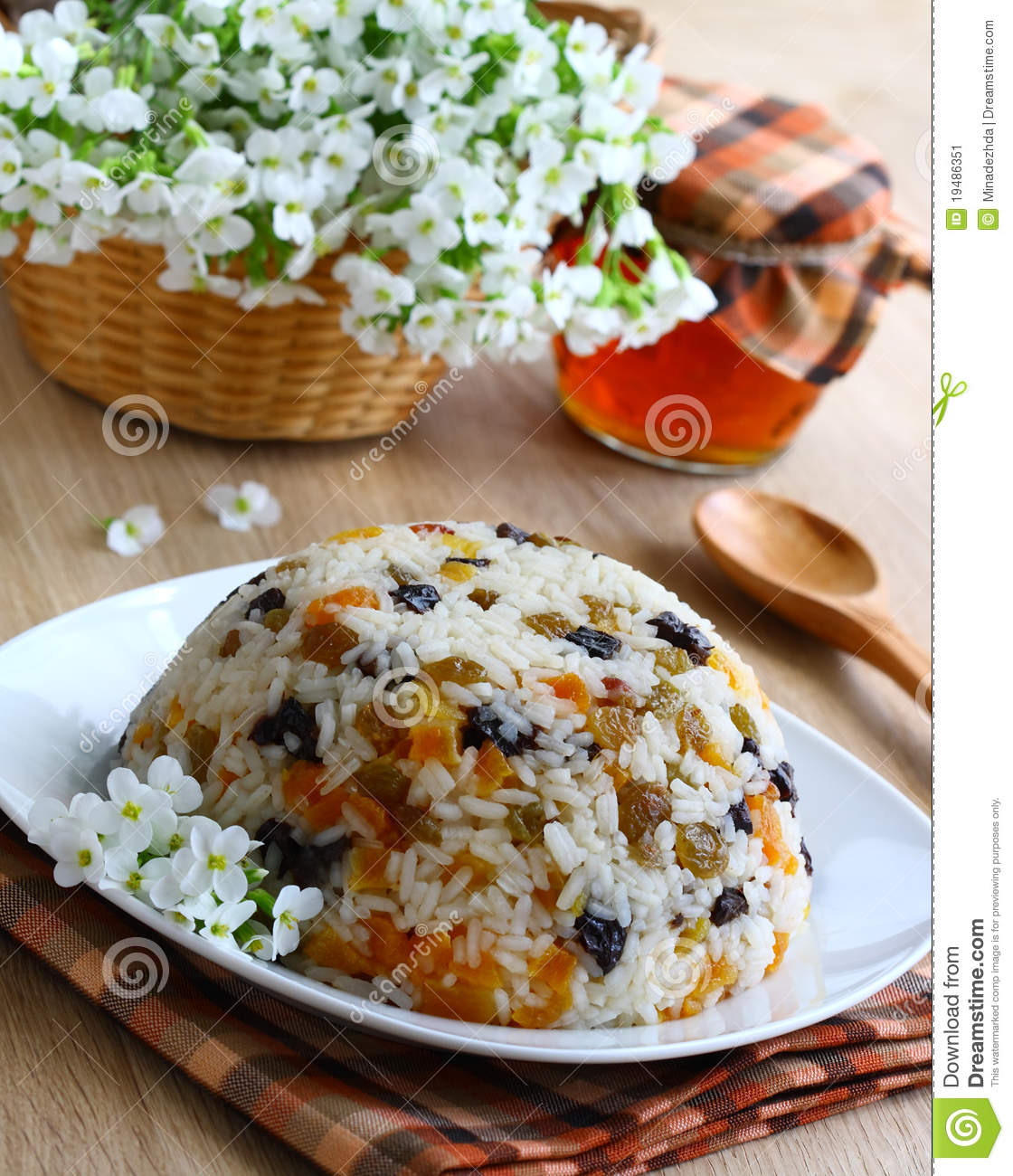 Rice Pudding. Stock Image - Image: 19486351