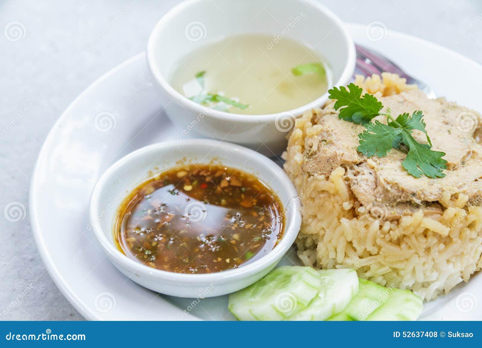 Rice roast chicken