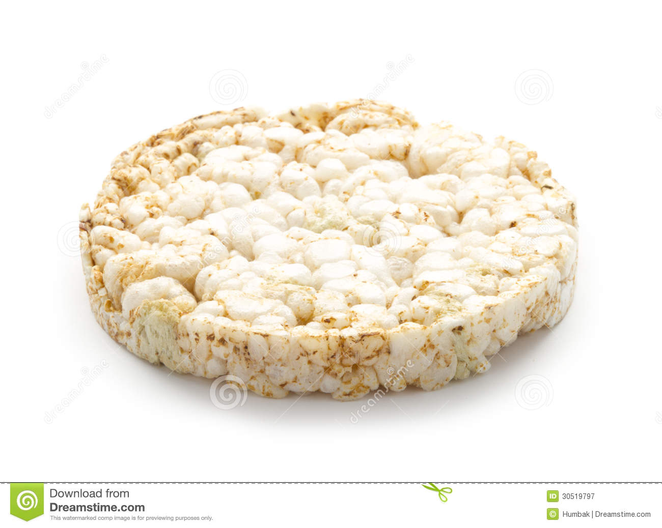 Rice wafer stock image. Image of snack, tasty, stack ...