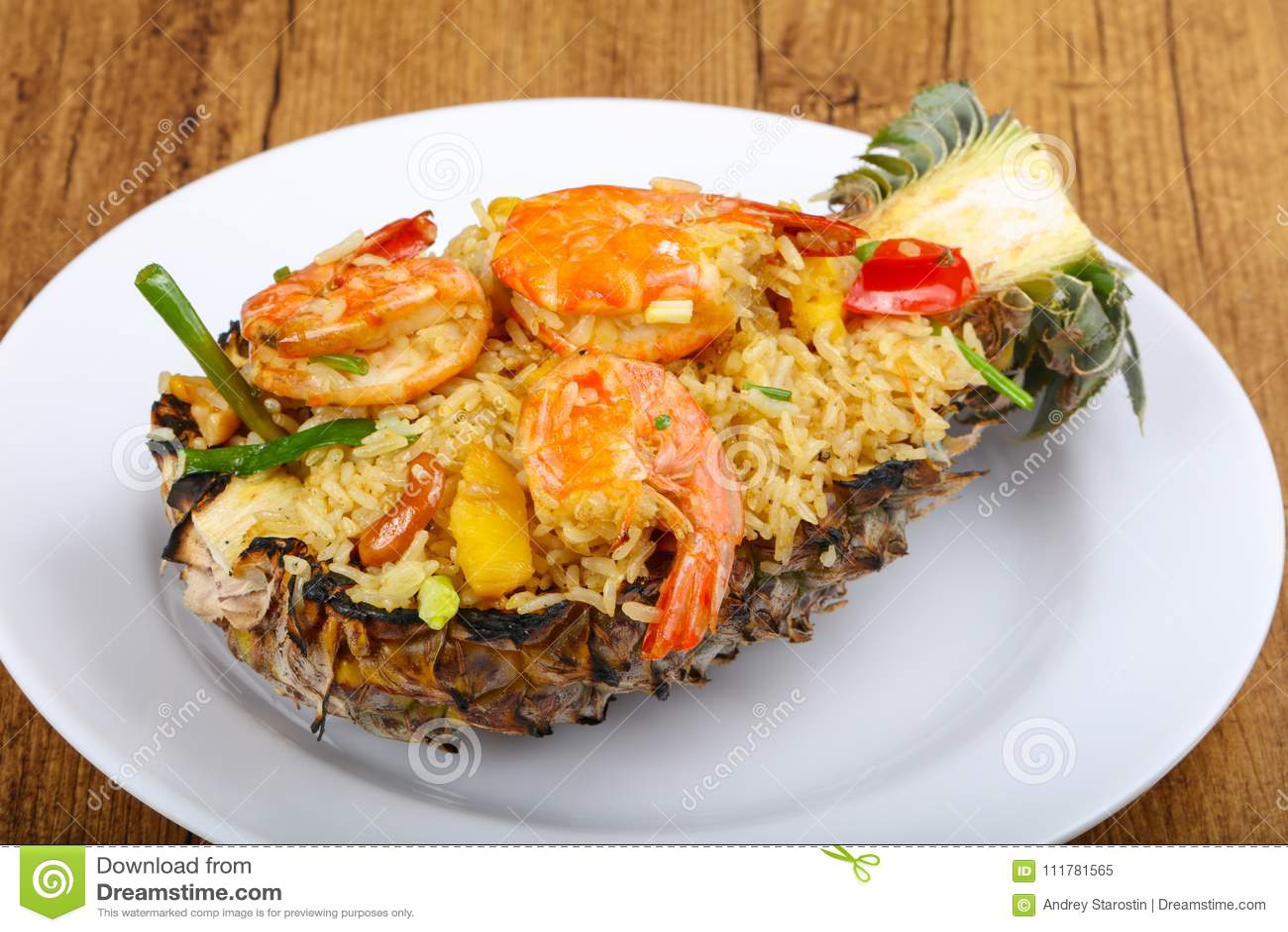 Rice z krewetką