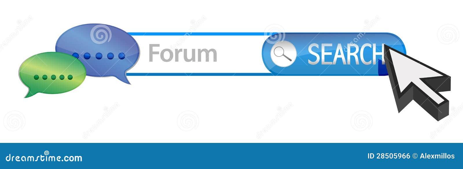Ricerca del forum di web