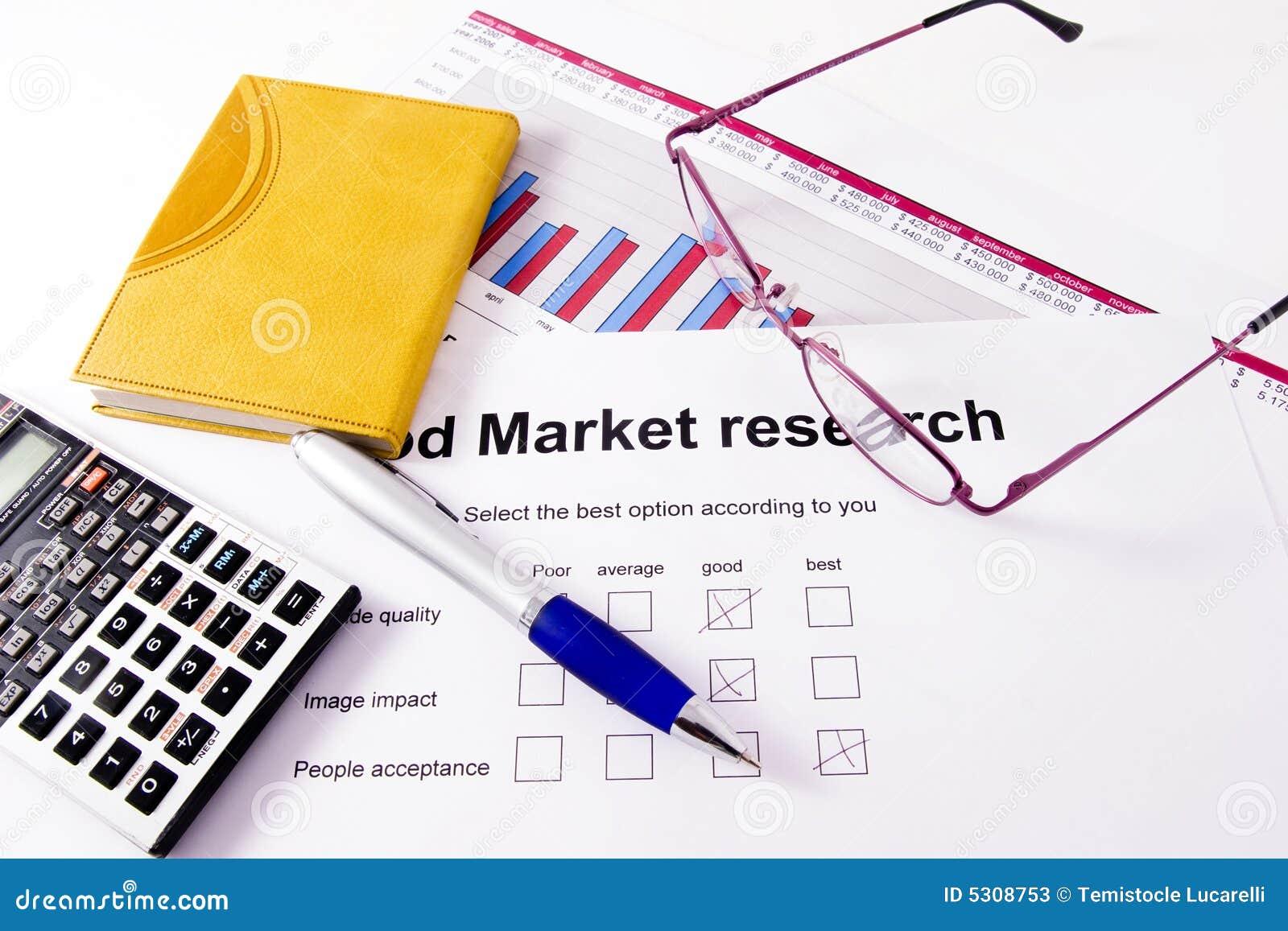 Download Ricerca di mercato immagine stock. Immagine di magnifier - 5308753