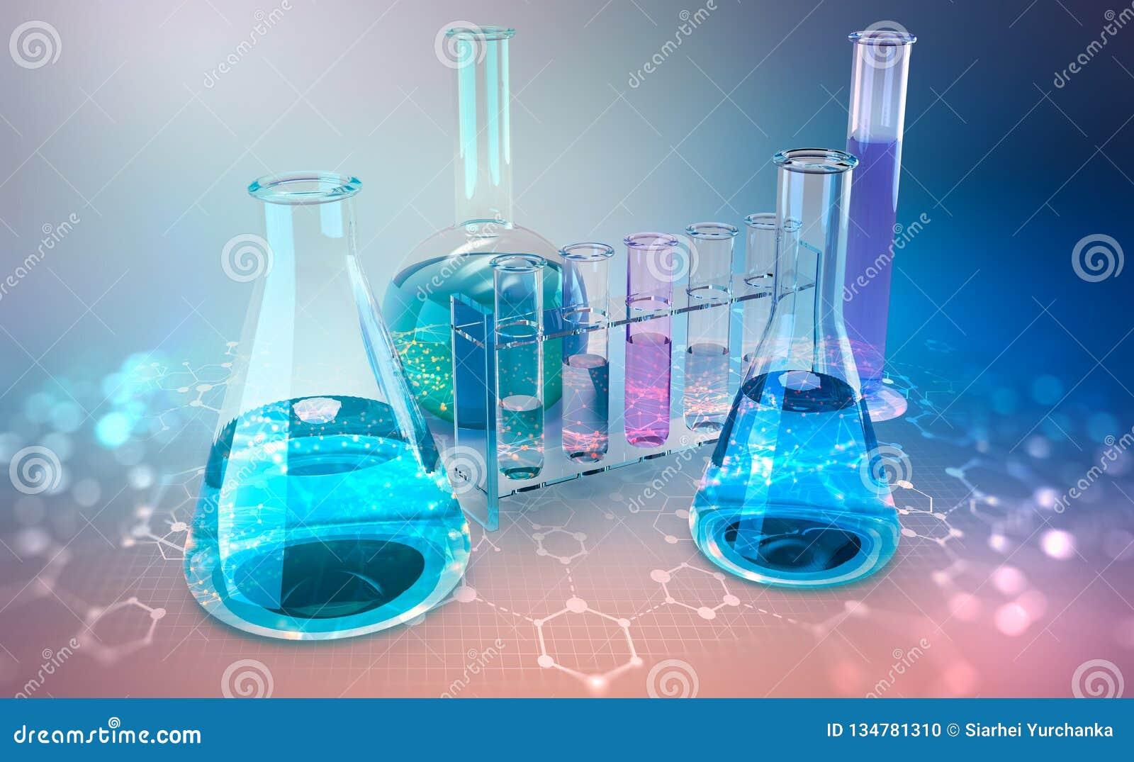 Ricerca medica microbiologia Studio sulla struttura chimica delle cellule