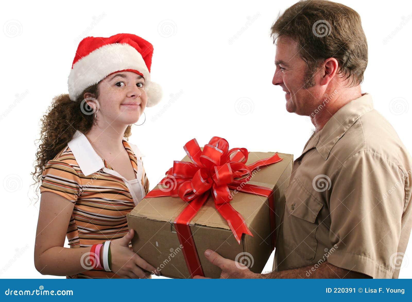 Ricezione del regalo di natale