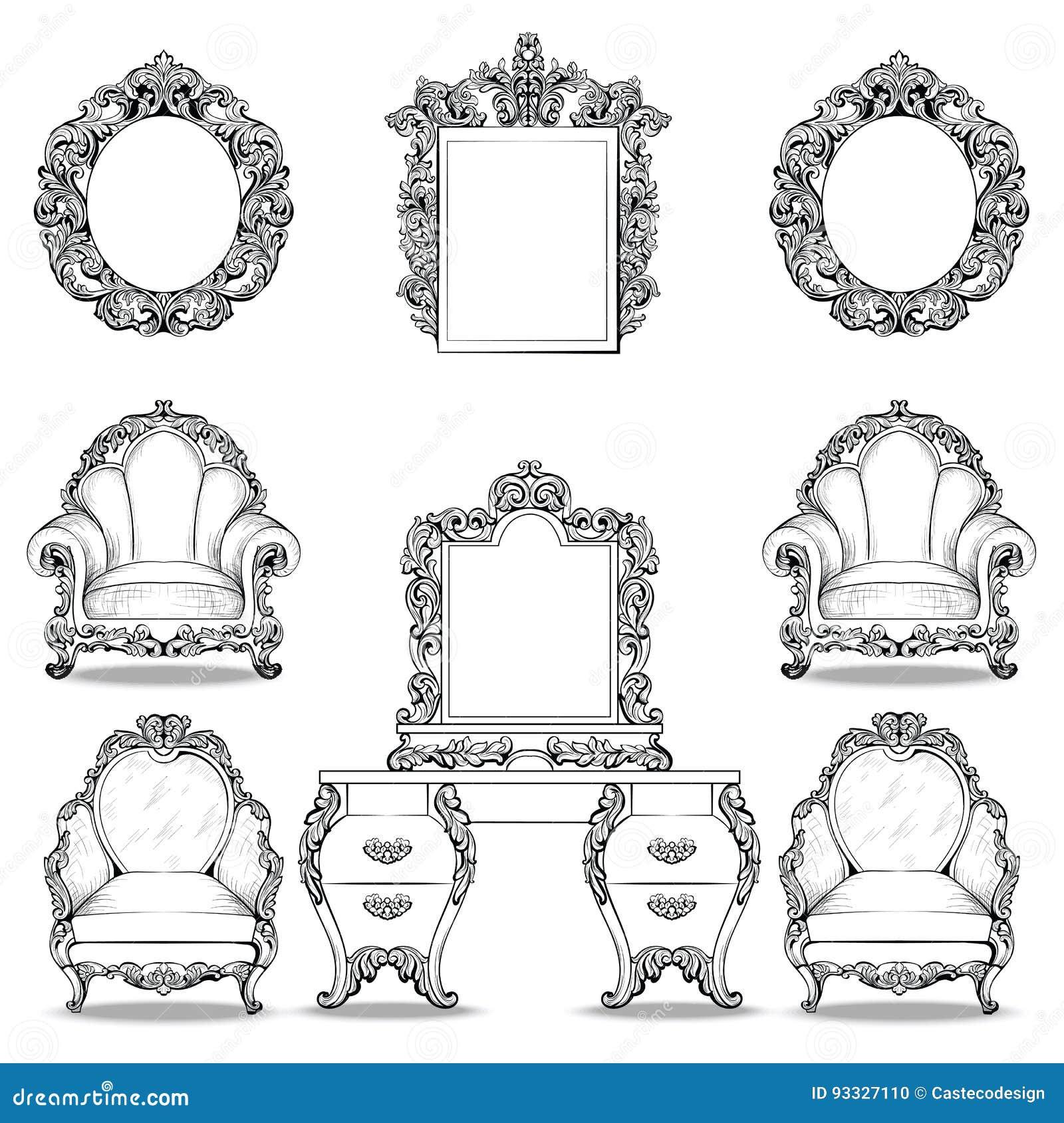 Best Franzosische Luxus Einrichtung Barock Design Ideas - Amazing ...