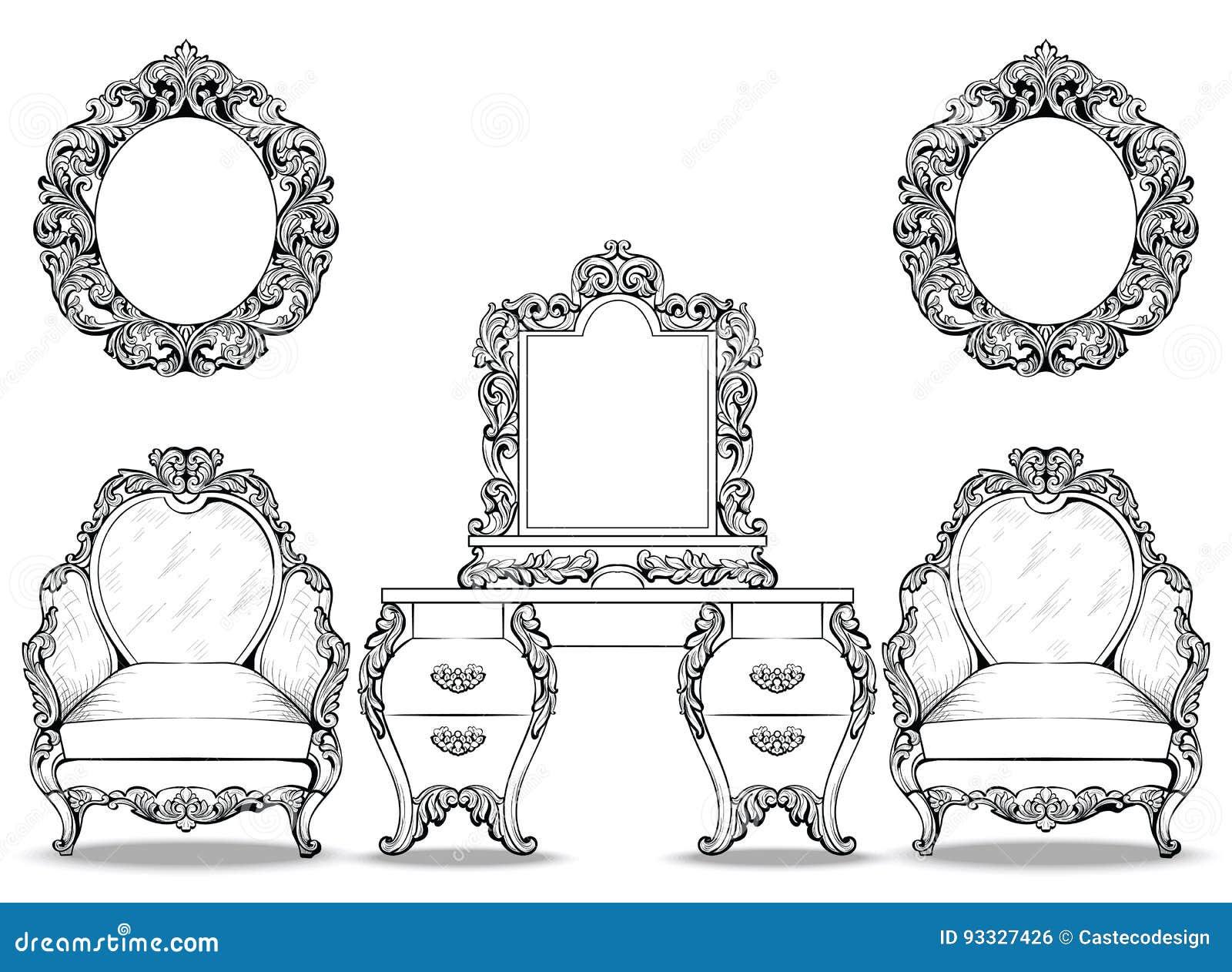 Franzosische Luxus Einrichtung Barock Design Franzosische Luxus ...
