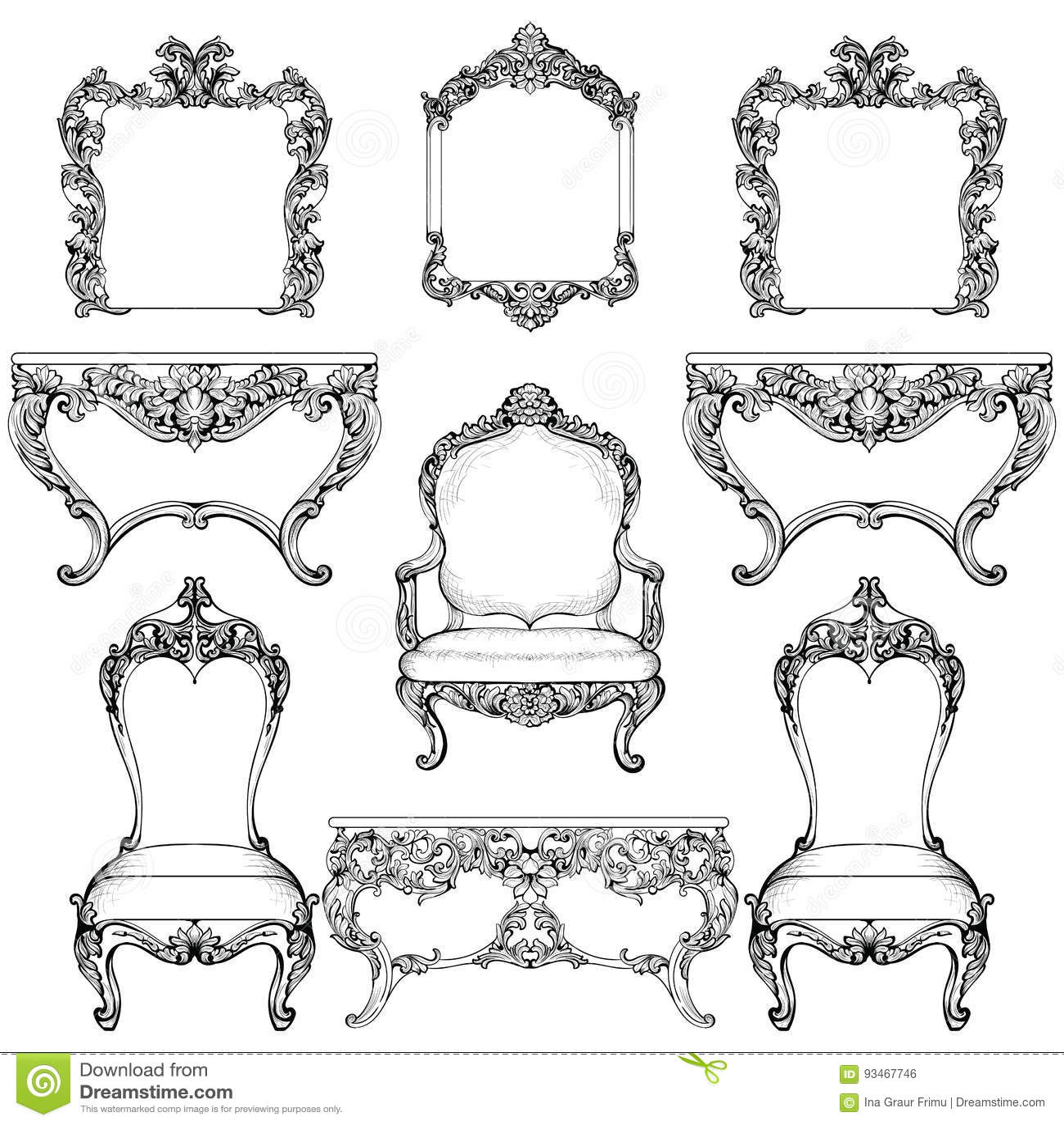 franzosische luxus einrichtung barock design: franz?sische luxus ...