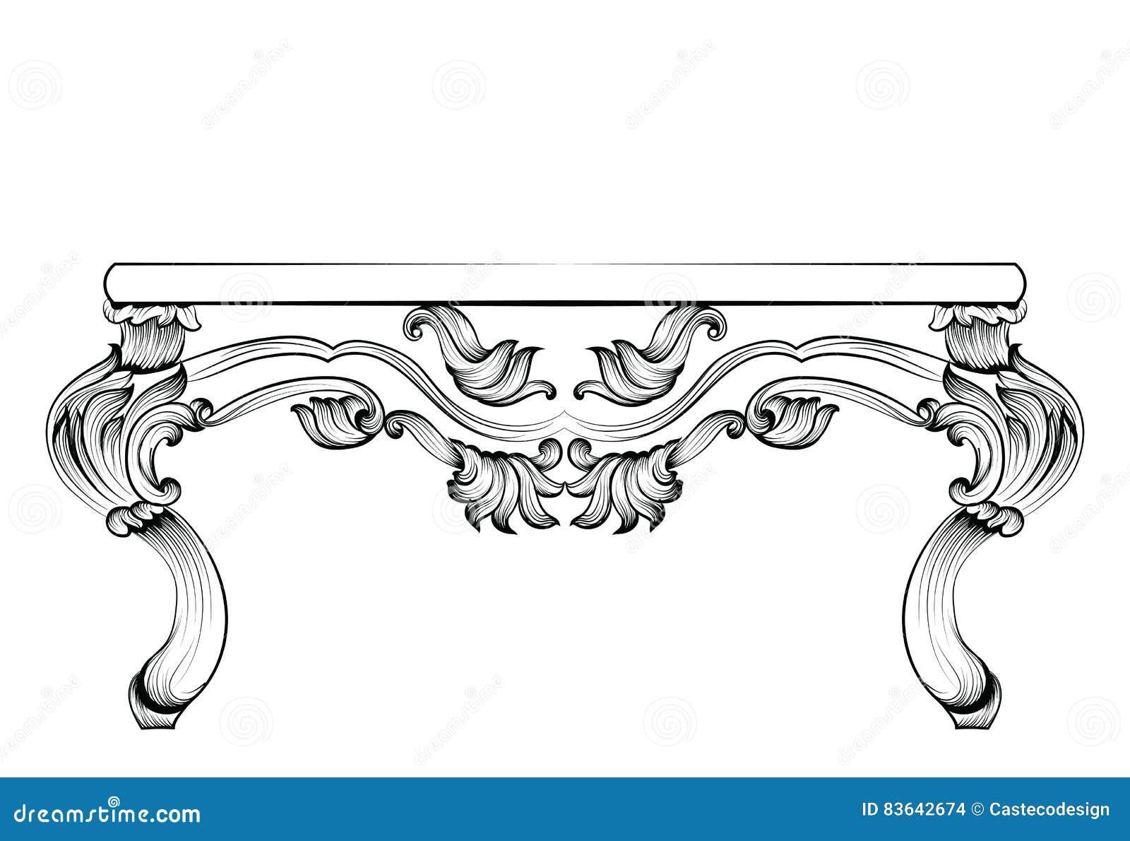 Franzosische luxus einrichtung barock design