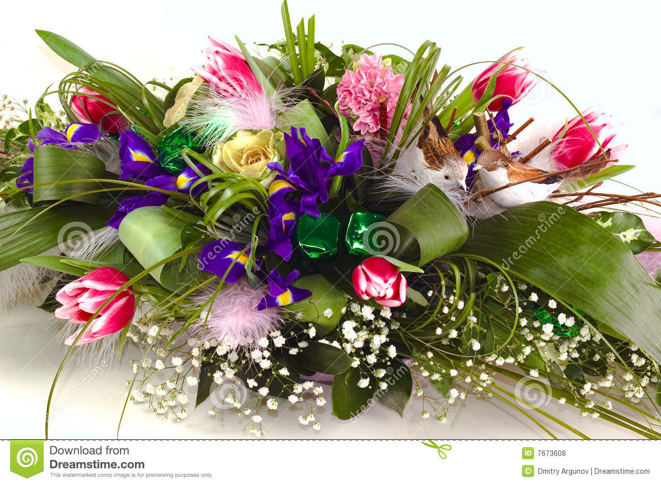Rich and beautiful bouquet of different flowers stock photo image rich and beautiful bouquet of different flowers izmirmasajfo Gallery