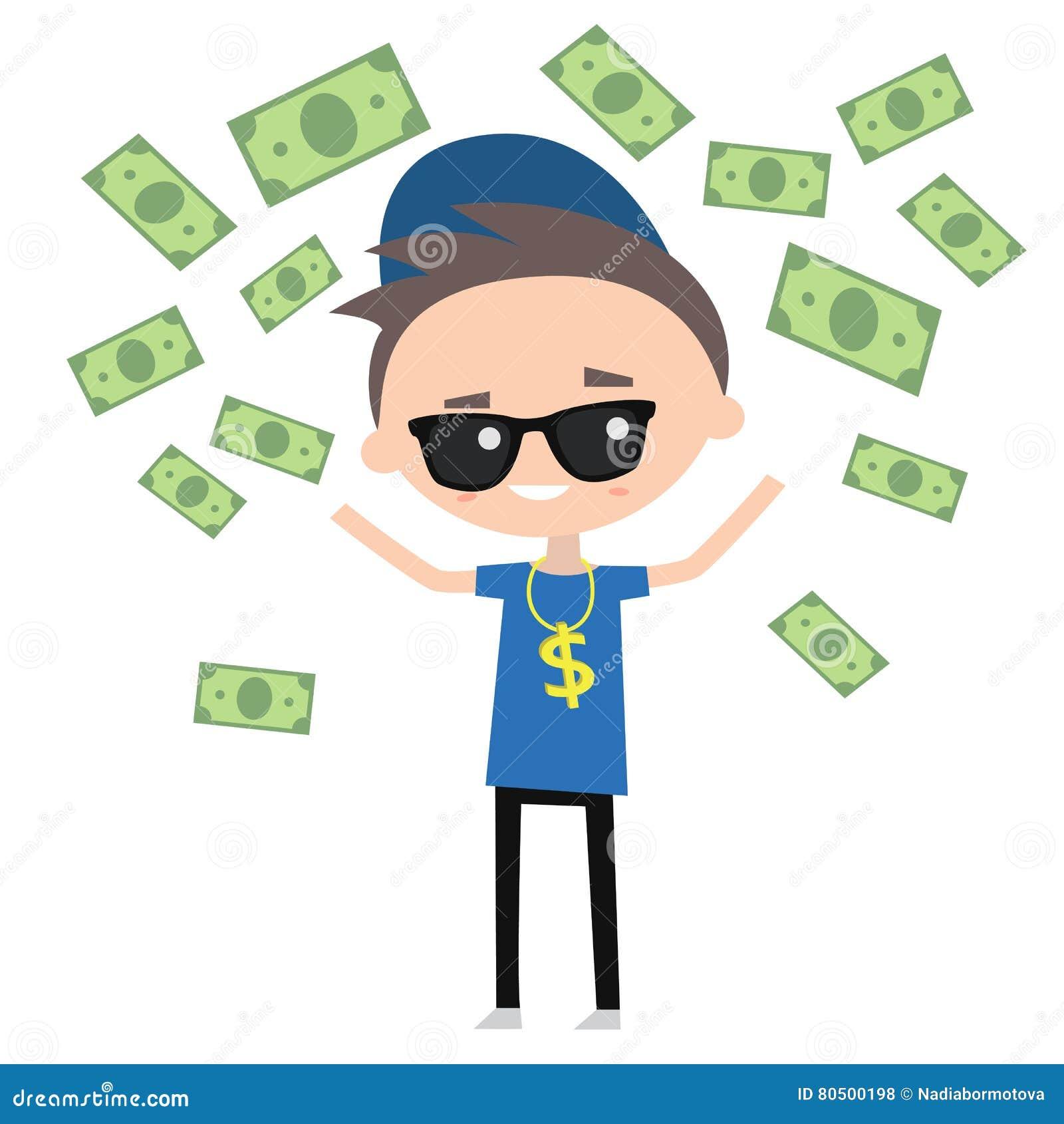 Rich boy clipart