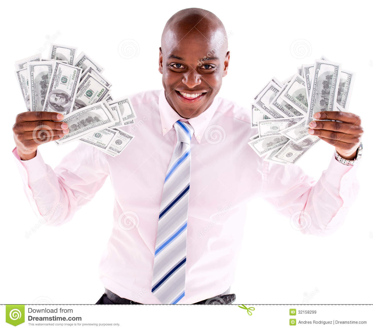 rich-business-man-bunch-dollars-isolated