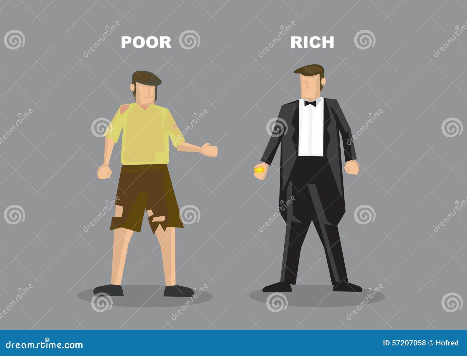 rich vs poor cartoons - photo #25