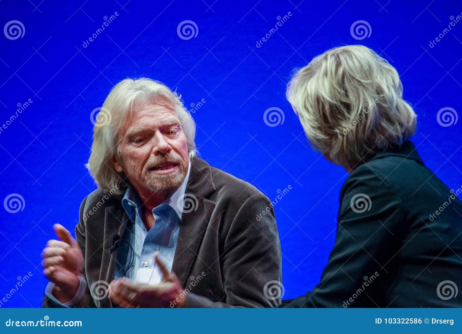 Richard Branson, fundador y presidente del grupo de la Virgen
