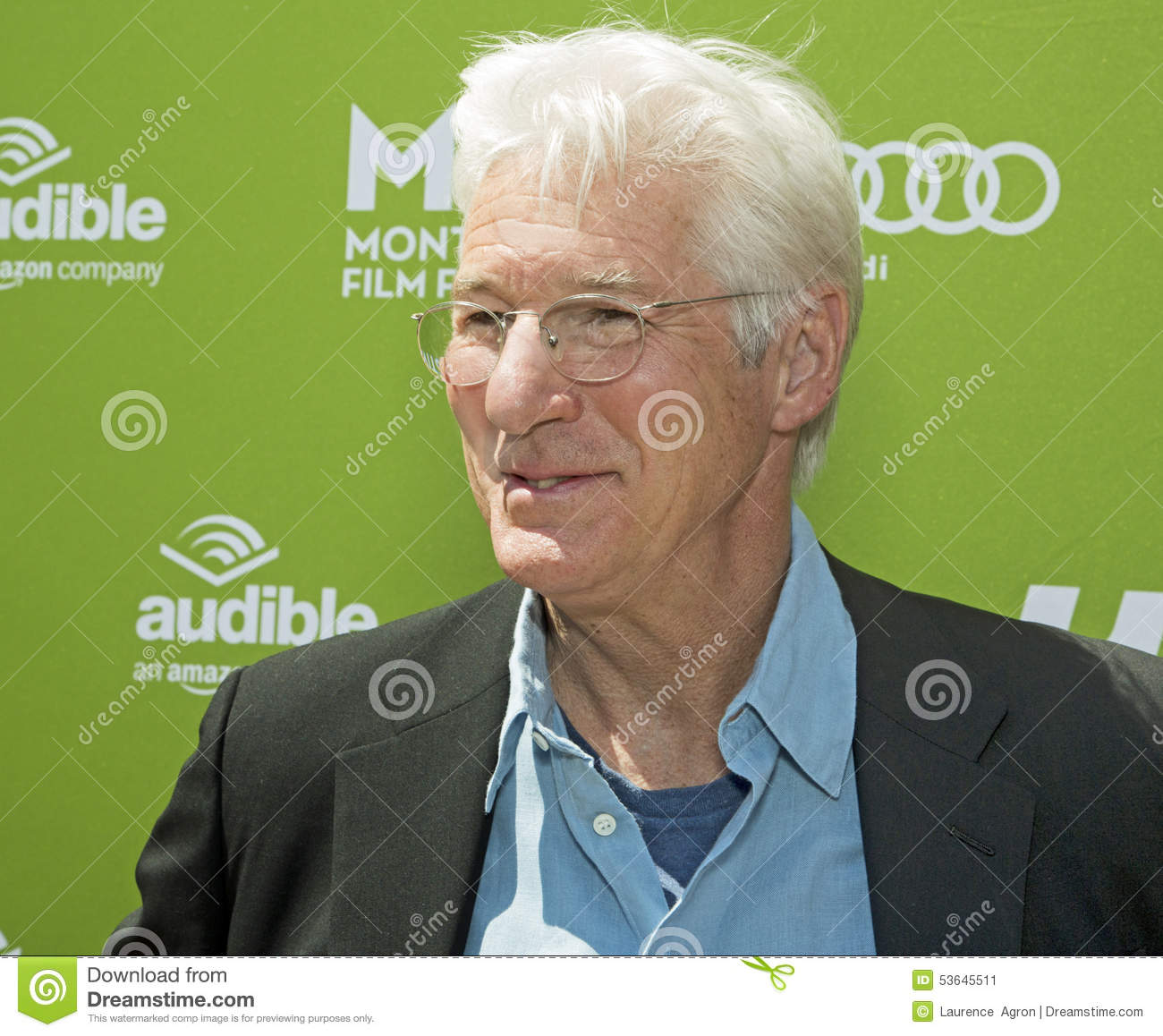 Richard Gere At The 2015 Montclair Film Festival Editorial Photo ...