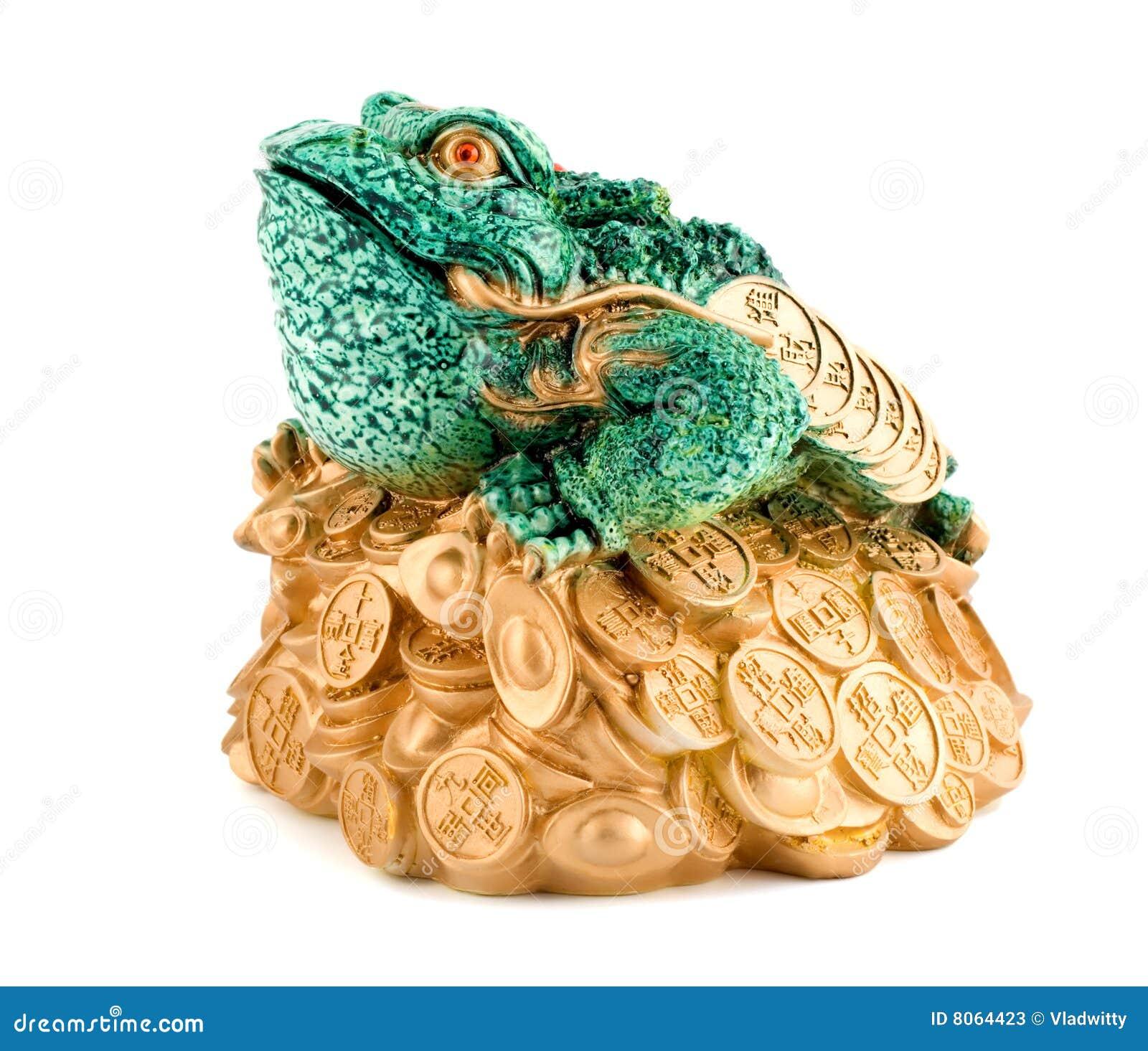 richesse de symbole de grenouille photos stock image 8064423. Black Bedroom Furniture Sets. Home Design Ideas