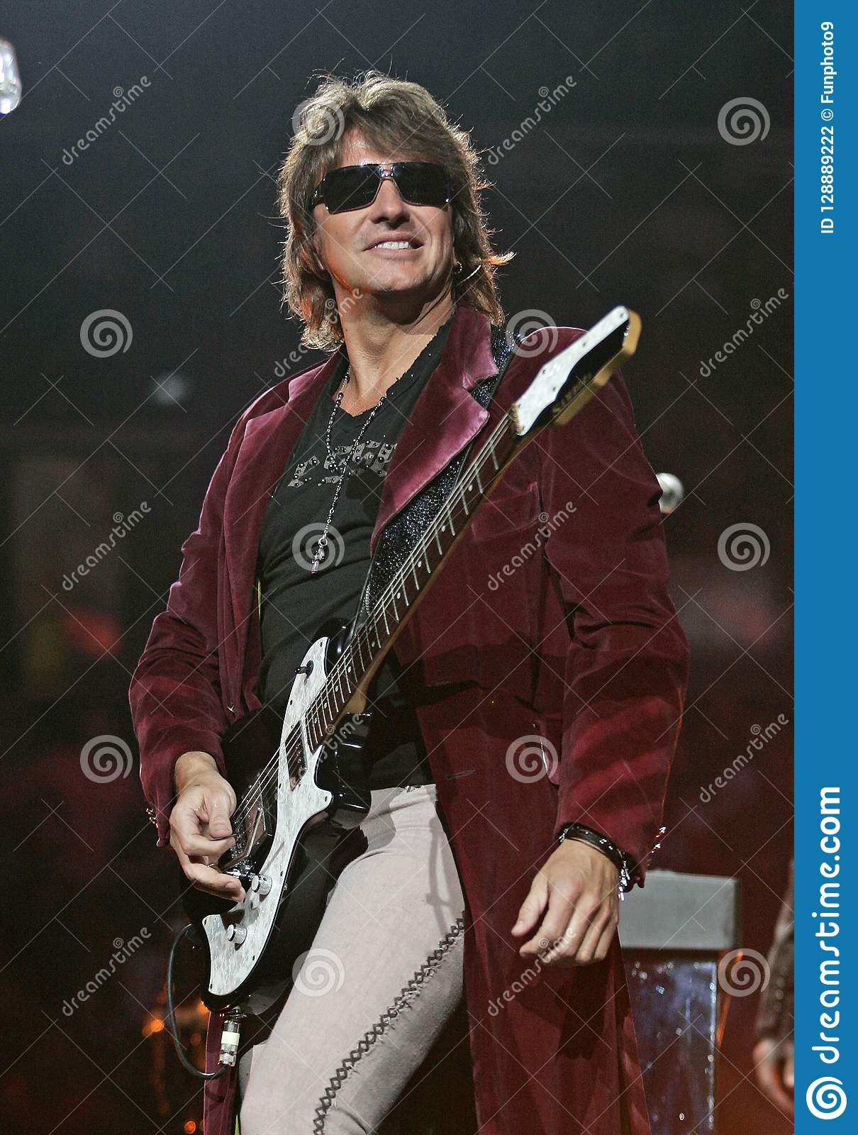 Richie Sambora - Bon Jovi performs in concert