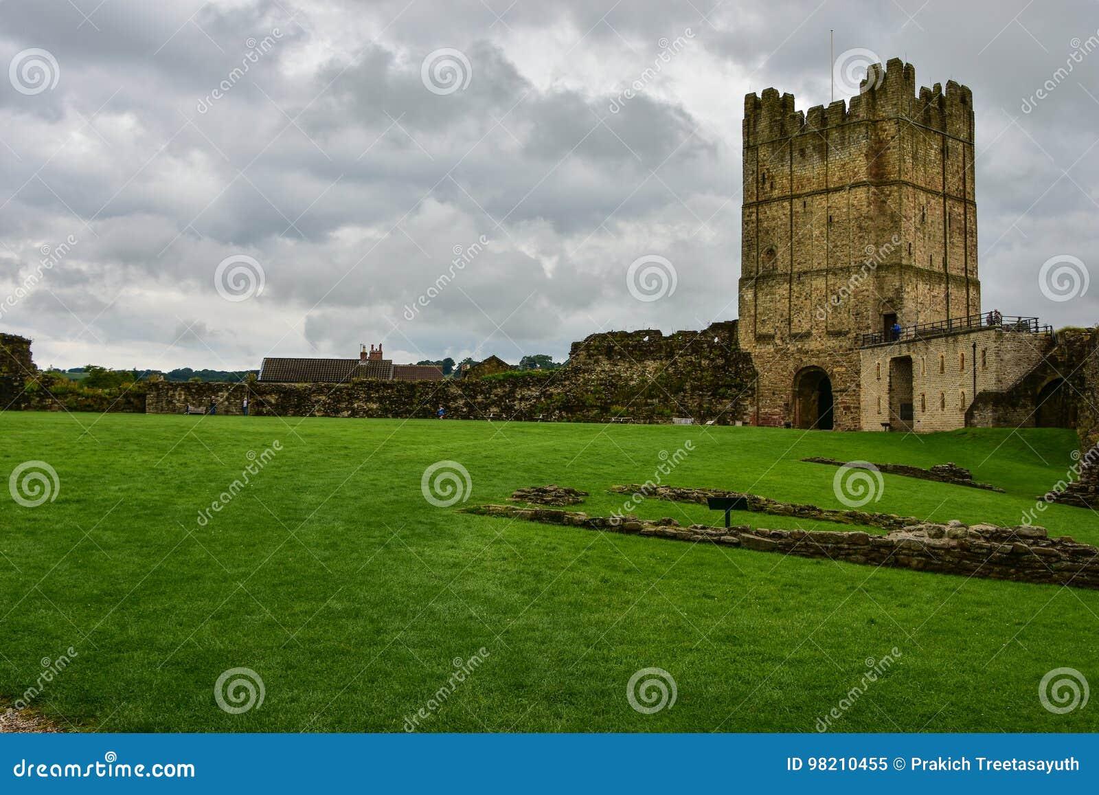 Richmond Castle a Richmond