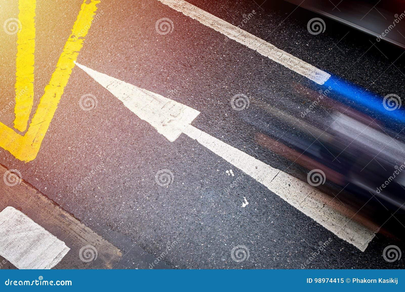Richting vooruit met het effect, het Doel en Succe van het langzame snelheidsblind