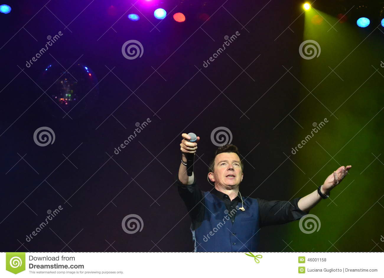 Rick Astley - South America Mini Tour
