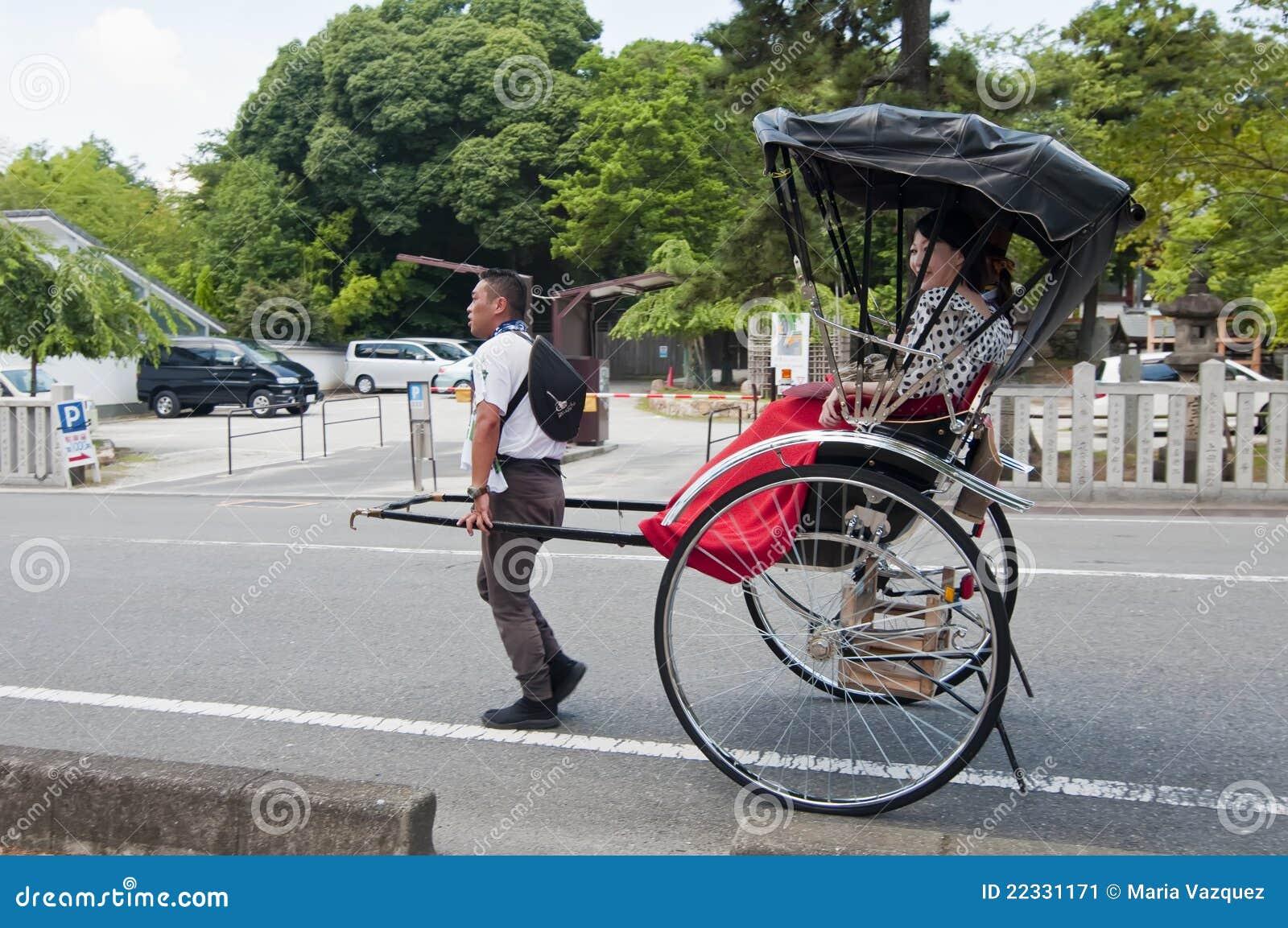 Rickshaw, Japanese Transport Editorial Photo - Image: 22331171