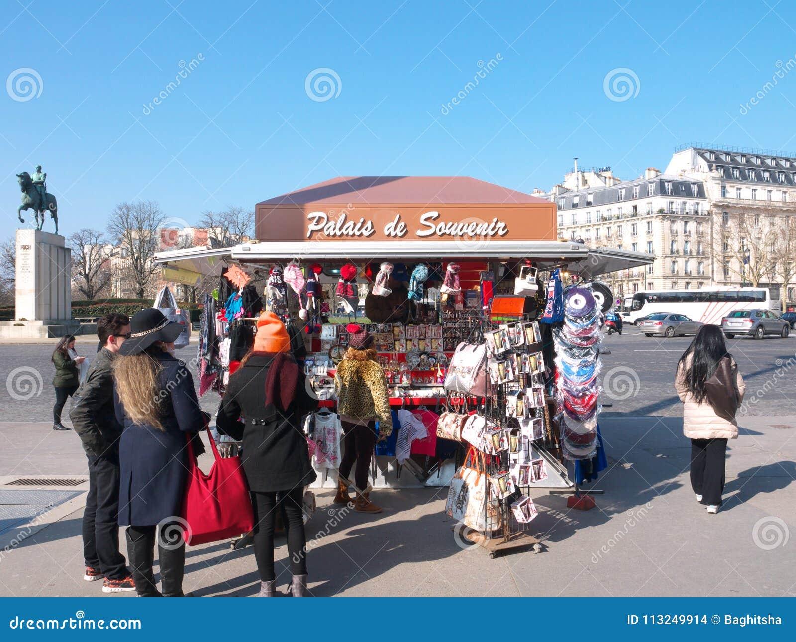 Ricordo Kiosk Palais de Chaillot Parigi Francia