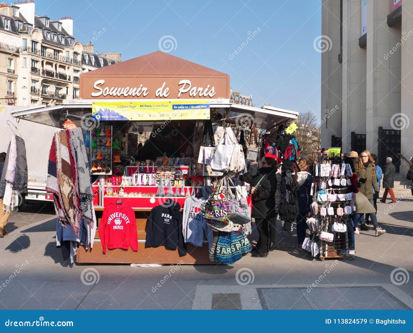 Ricordo Kiosk Palais de Chaillot Trocadero Parigi Francia