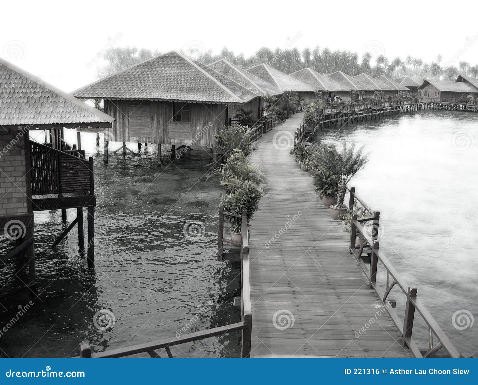 Ricorso vago del villaggio dell acqua