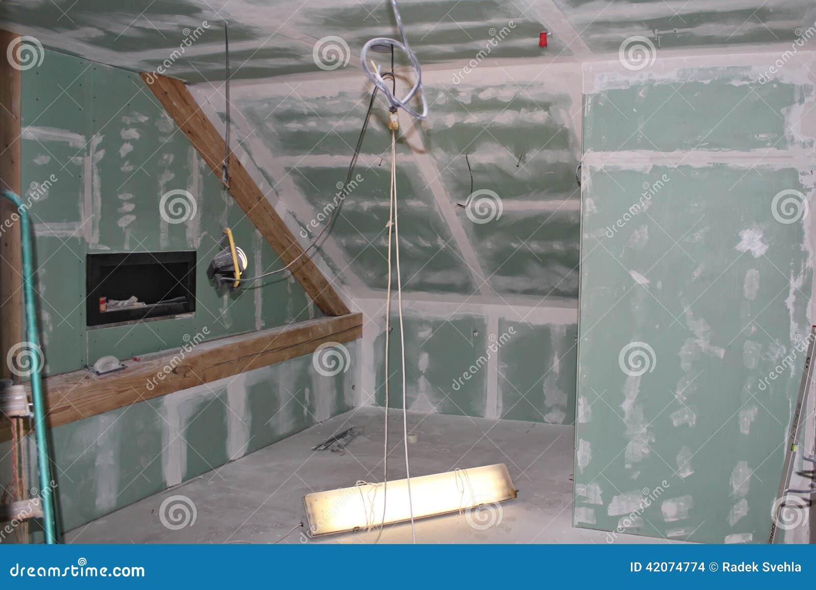 Ricostruzione della soffitta