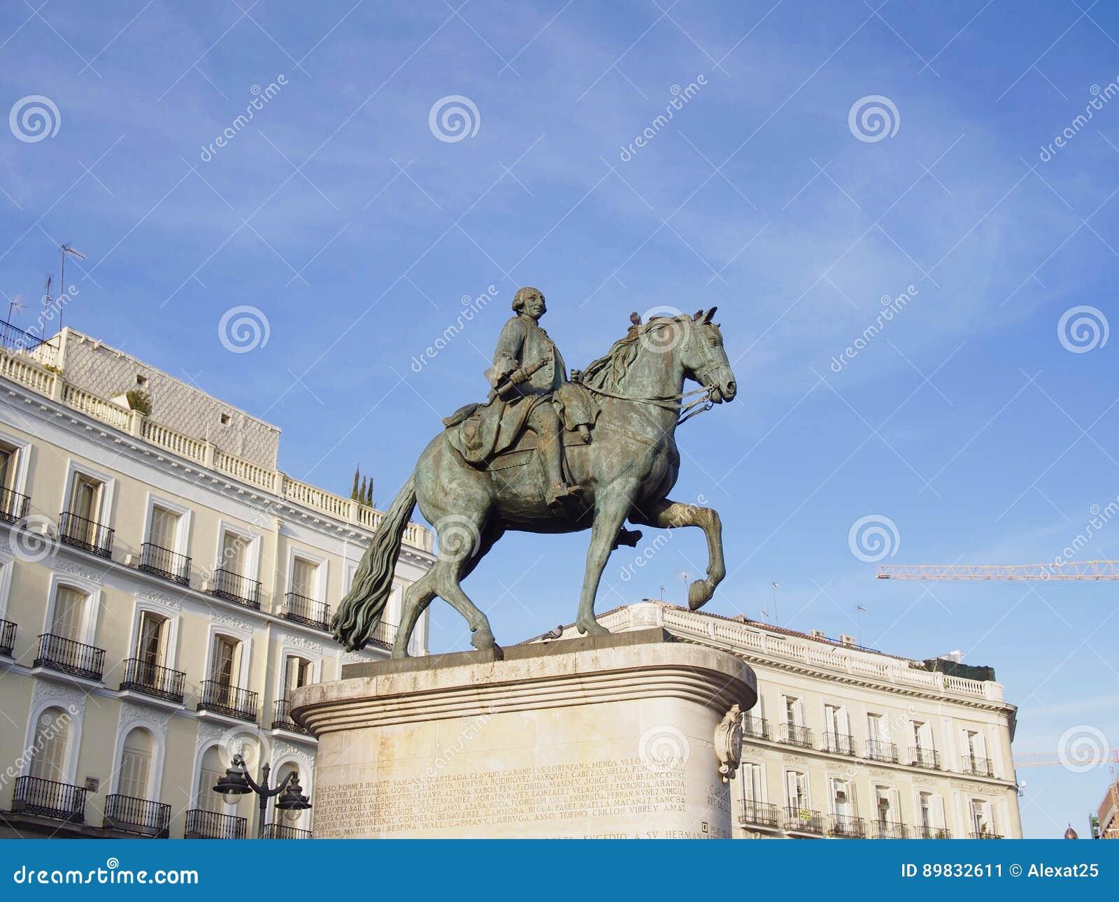 Rid- staty av Carlos III