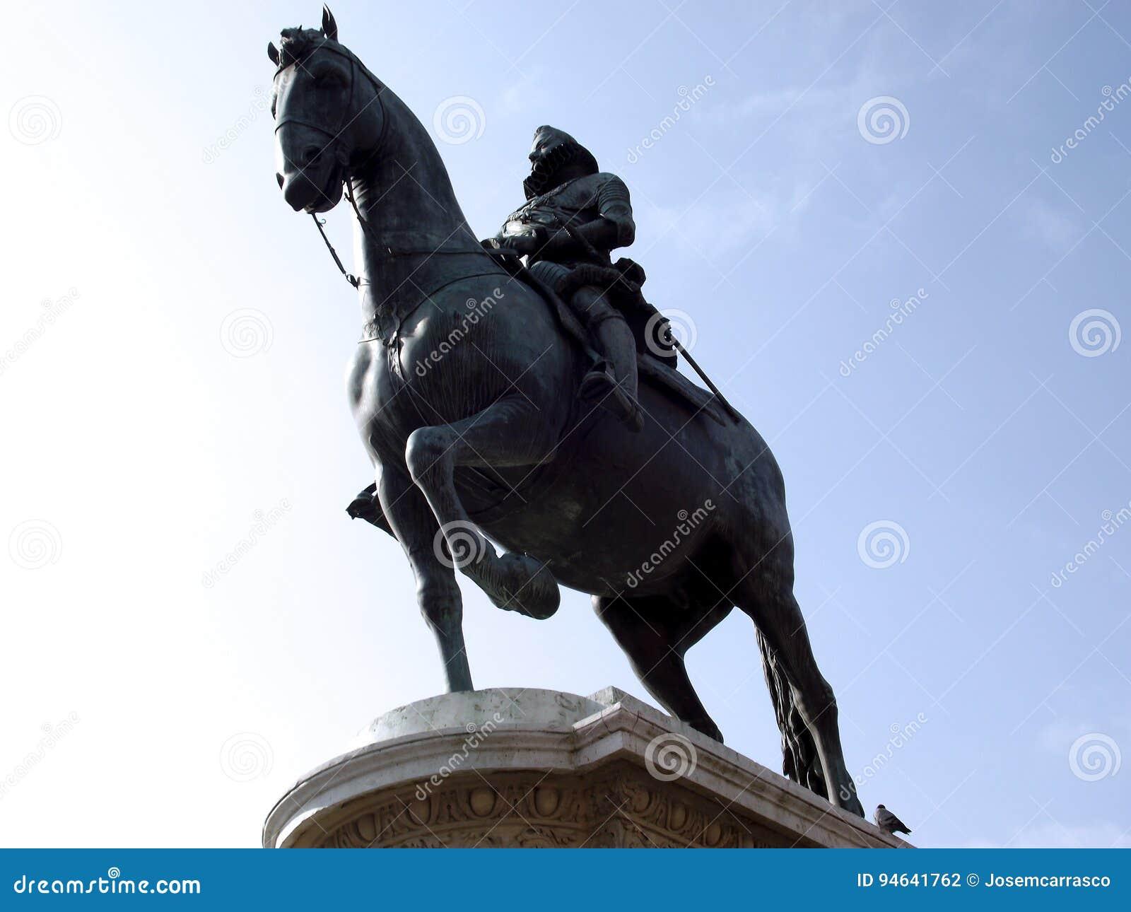 Rid- staty av Carlos III i Madrid