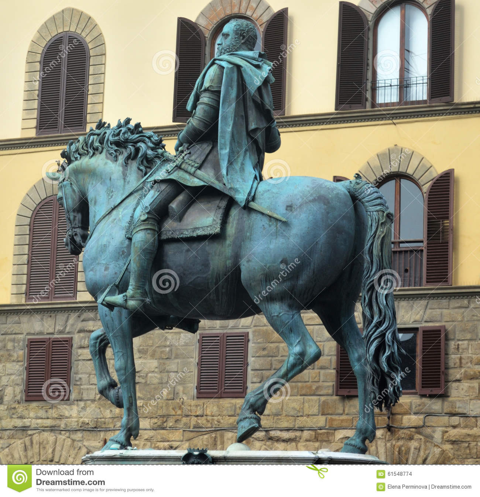 Rid- staty av Ferdinand I de  Medici i Florence