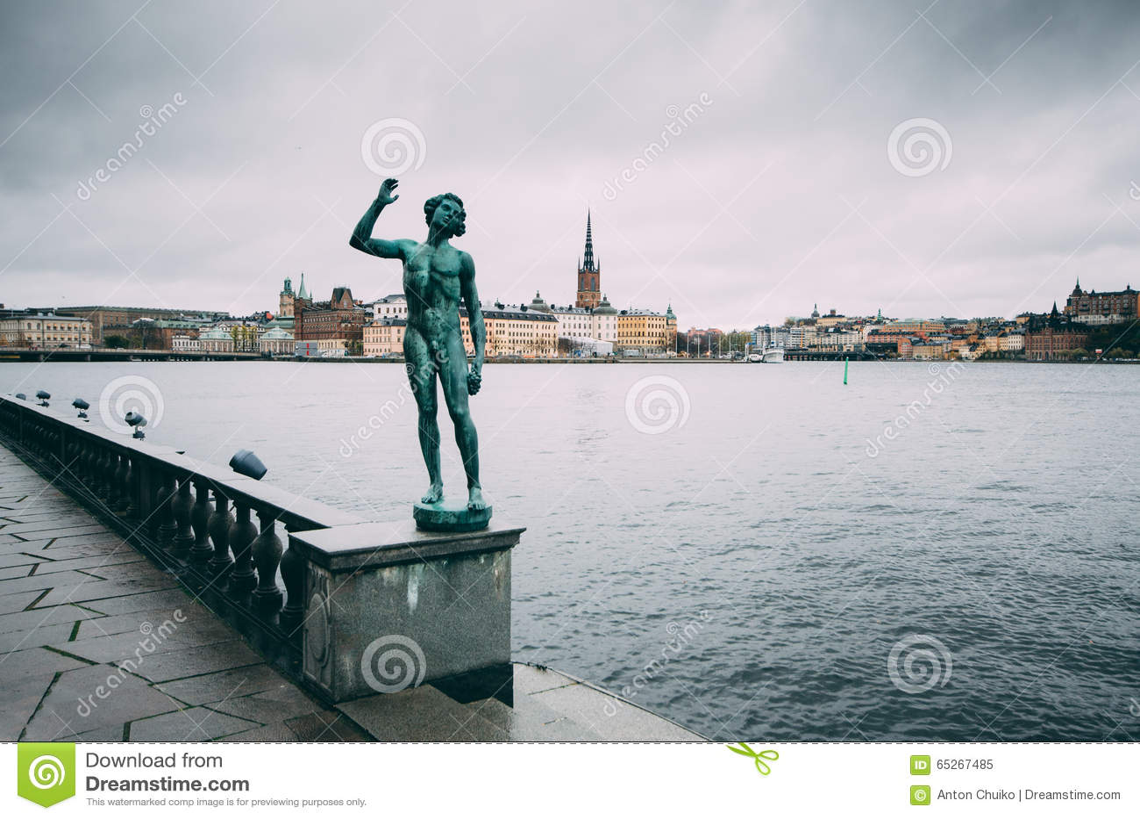 Riddarholmen à Stockholm