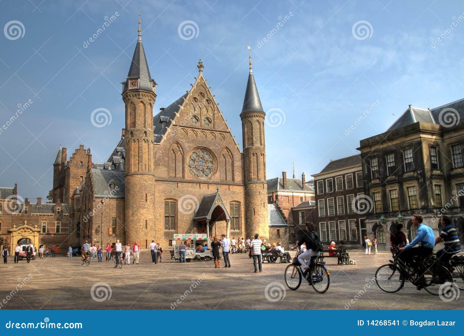 Ridderzaal dans Binnenhof, la Haye, Hollandes