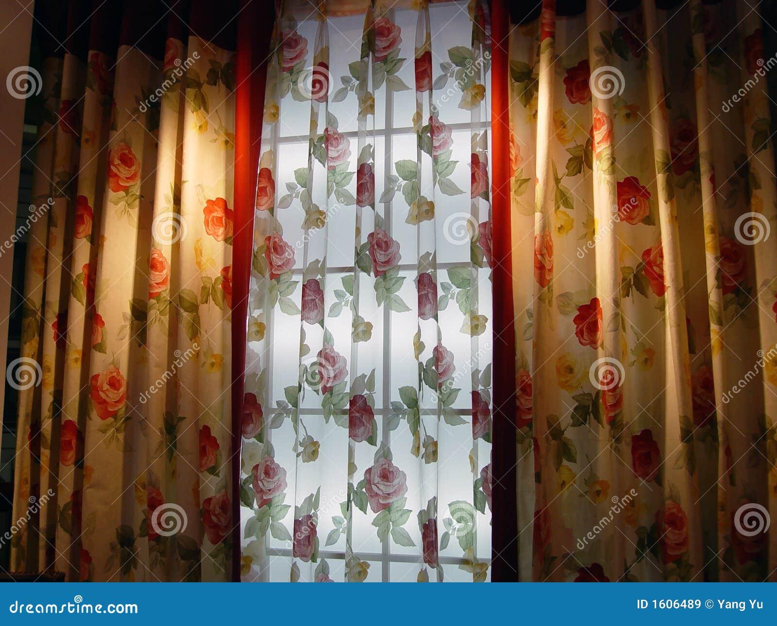 rideau de luxe images libres de droits image 1606489