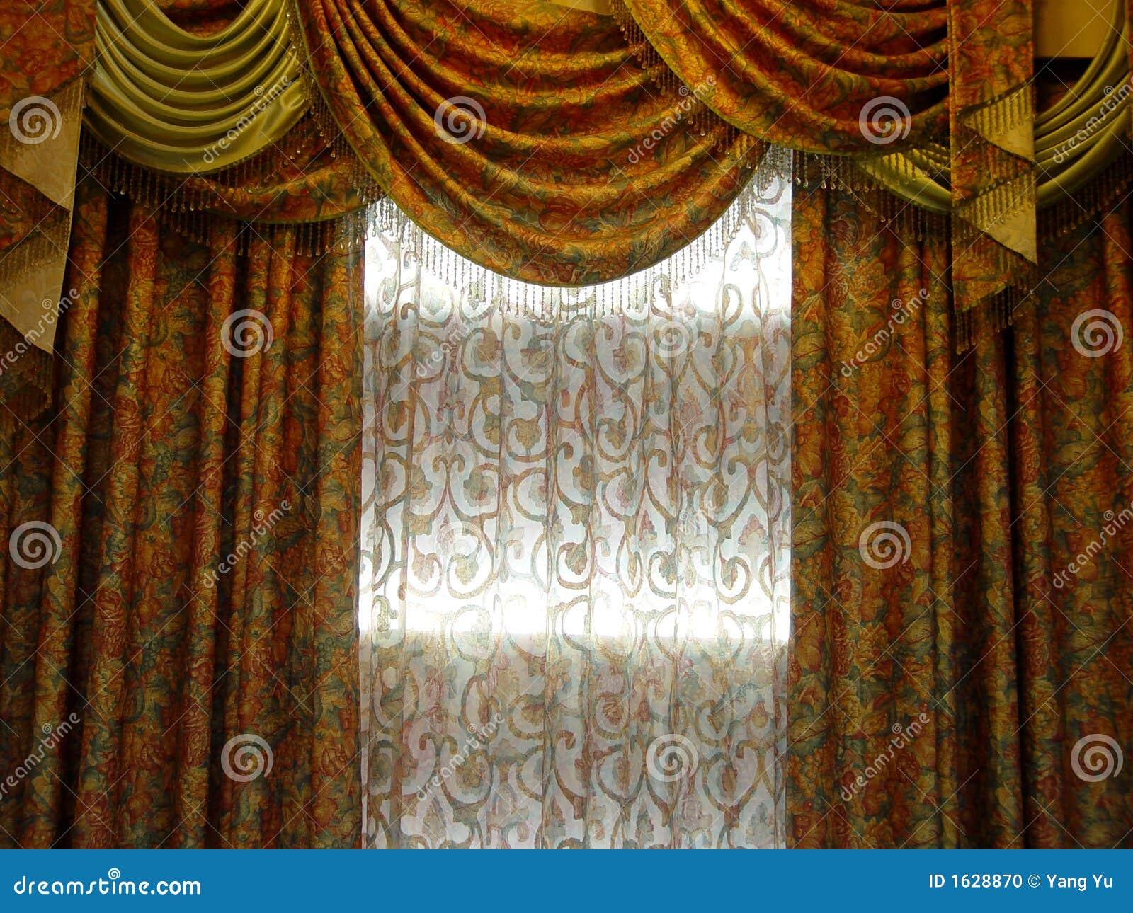 rideau de luxe photo stock image 1628870