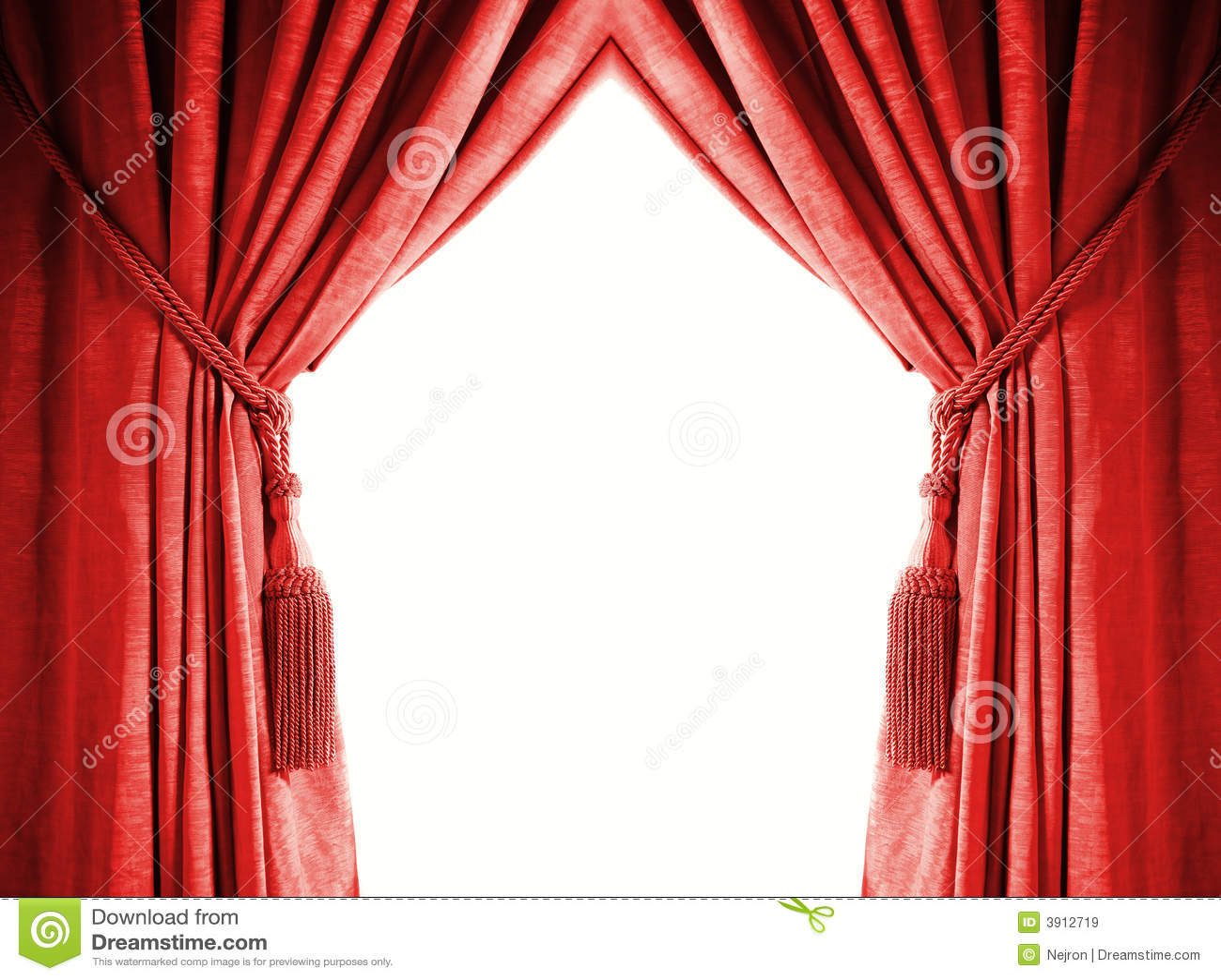 rideau de luxe images libres de droits image 3912719