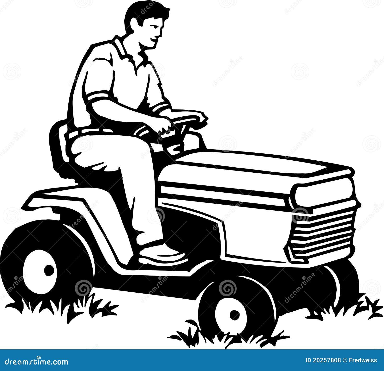 Riding Lawn Mower Royalty Free Stock Photos Image 20257808