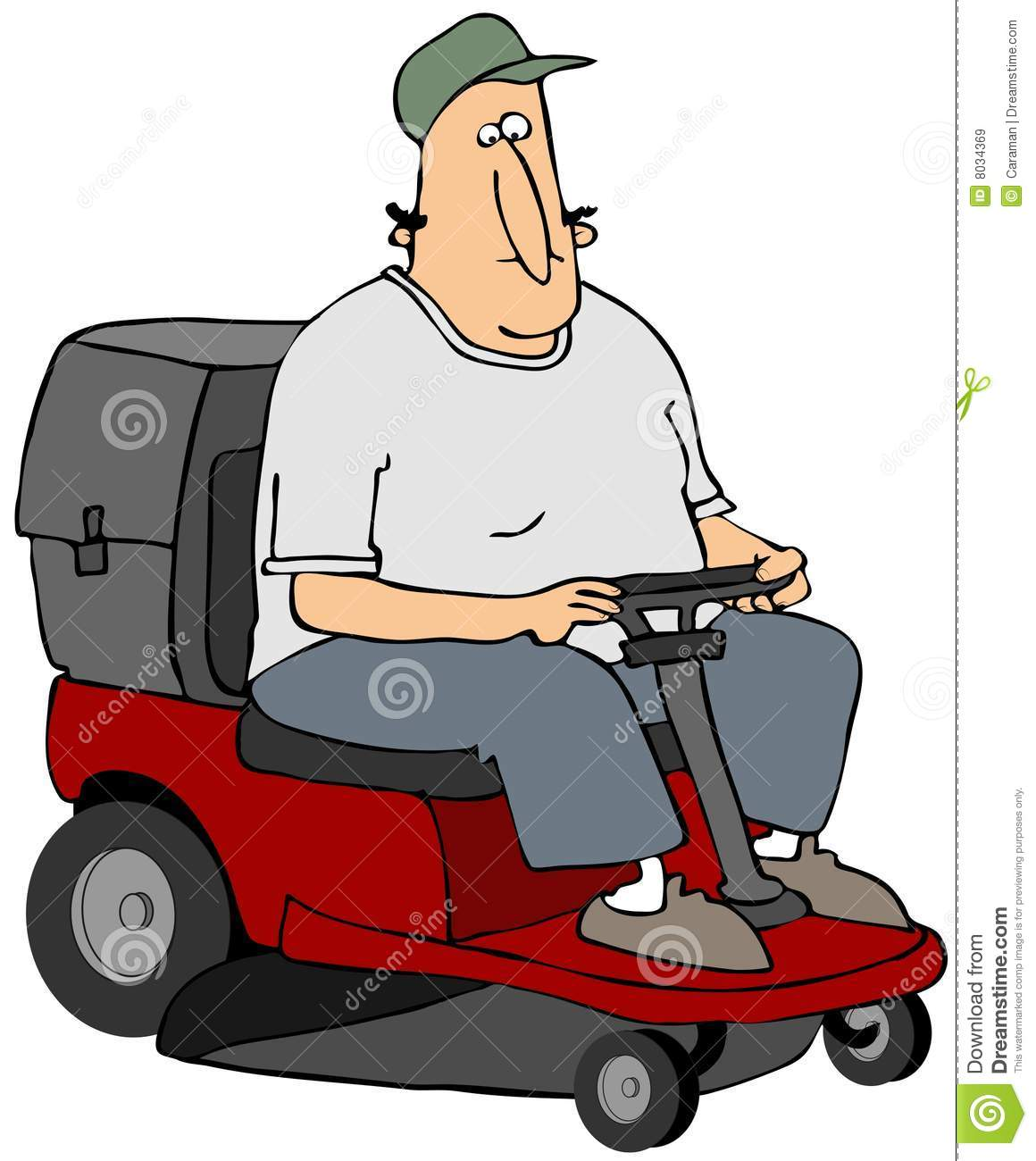 Riding mower stock illustration illustration of ride 8034369 riding mower publicscrutiny Image collections