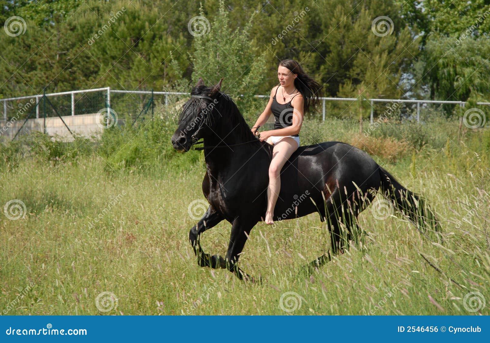 Teen girl riding dick