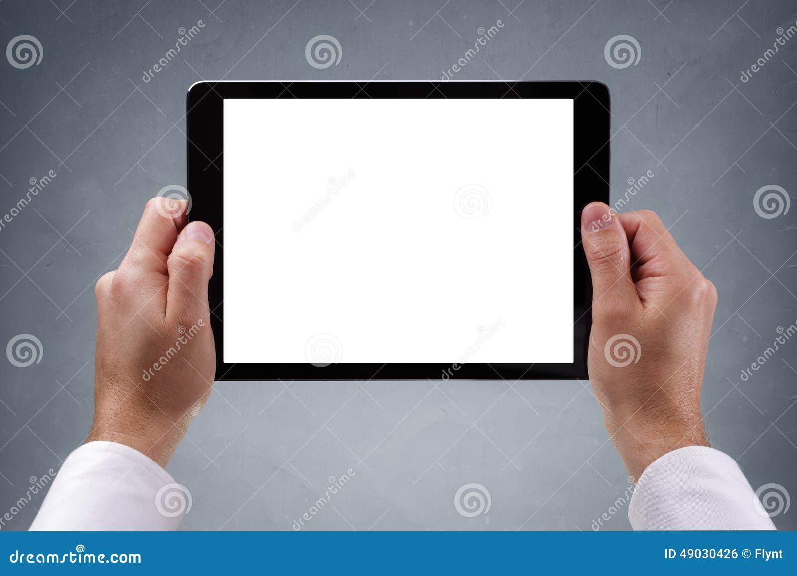 Ridurre in pani di Digitahi con lo schermo in bianco