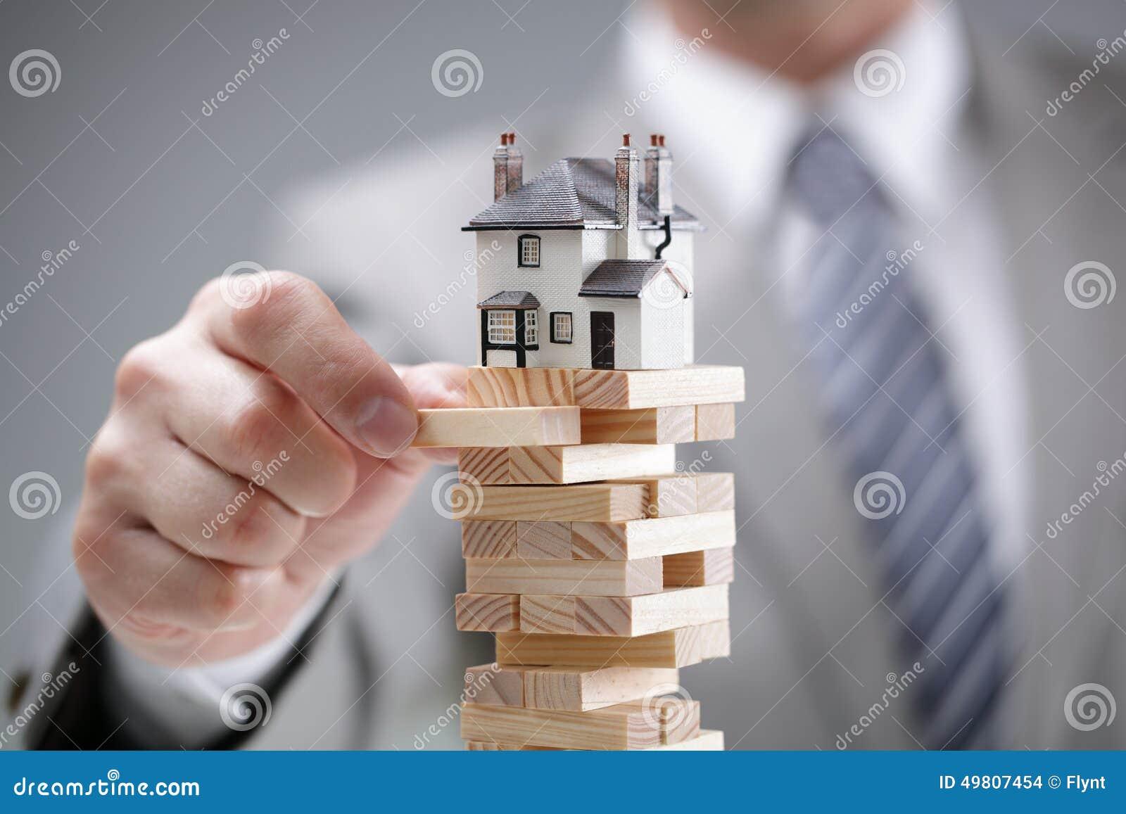 Riesgo del mercado inmobiliario