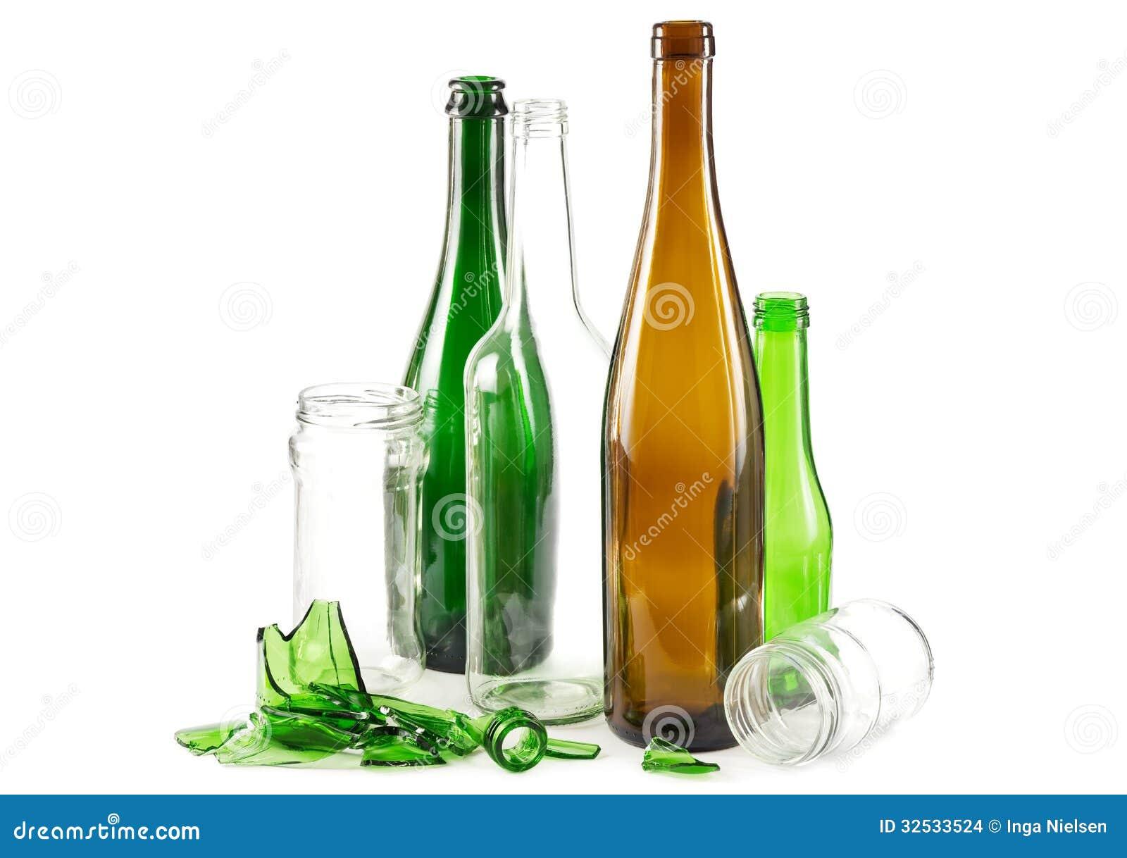 Rifiuti di vetro fotografia stock immagine di bottiglie for Botole per tetti prezzi