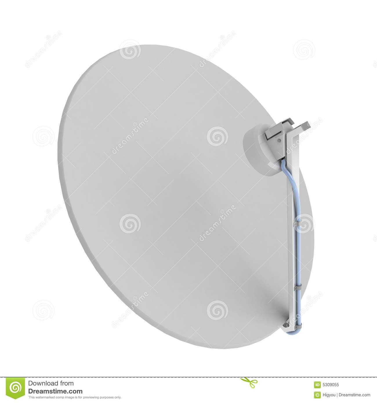 Download Riflettore parabolico illustrazione di stock. Illustrazione di wavelength - 5309055